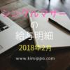 【シングルマザー】今月の家計費公開~2018.2~