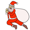 サンタクロース のイラスト