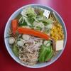 【旭川 梅光軒】魚貝鶏ガラの旨みが出た「こてあっさり」なスープがおいしい醤油ラーメン!野菜ラーメンは具たくさん!