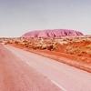 毎日更新 1983年 バックトゥザ 昭和58年8月5日 オーストラリア一周 バイク旅 42日目 23歳 誕生記念 岩山登山 頂上乾杯 ヤマハXS250  ワーキングホリデー ワーホリ  タイムスリップブログ シンクロ 終活