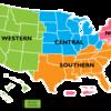 アメリカは地域によってどんな違いがあるの?