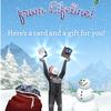 Lifelineから素晴らしいクリスマスプレゼントが届きました! ジャンプゲームとホリデーカードです! 誰が誰だか分かるかな?