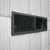 サッシ窓取付(小波スレート外壁抜き)
