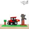 レゴ:トラクターの作り方 LEGOクラシック10696だけで作ったよ(オリジナル)