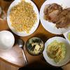 豚肉の生姜焼きとチャーハンを夕食に決定 午後は自宅でのんびり