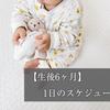 【生後6ヶ月】1日のスケジュール【授乳・睡眠・離乳食】