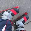 インラインスケートで転びました…