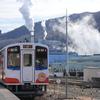 全線復旧を目指す三陸鉄道と、三陸駅前のど根性ポプラ