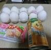 5/19 本搾りオレンジ116 クリーム玄米ブラン105 卵149