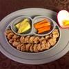 お野菜からの離乳食  [158日目  オートミールとフルーツペーストのおやき]