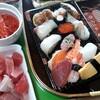 母親との退院祝い〜寿司&焼き芋