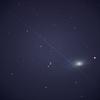 青空に銀河 M63 & 朝帰りは、おやすみ EG Cnc