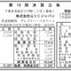 テレビショッピングの株式会社QVCジャパン 第19期決算公告
