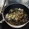 《謎の料理》小松菜と豚肉炒め作ったよ