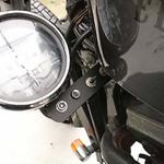 【バイク】 スイッチ メーター インジケーター移設をイイ感じに自作!