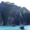 タイのピピ島、離島へボートツアー