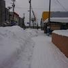 道南も雪国です。汗。