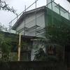 軒天と屋根まわりの工事、残ってました