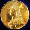イギリス1887年ヴィクトリア女王ゴールデンジュビリーメダル 84.5g 58mmプルーフ