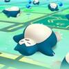 【ポケモンGO】寝ているカビゴンが出現!