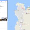 Googleマップにおけるリスト機能のブラウザ版