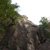 2017/07/23 獅子岩でマルチピッチ練習