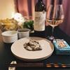⋆⸜𓎩【ワインとごはん】成城石井さんの辛口白ワインと、カルディさんの牡蠣の水煮𓎩⸝⋆