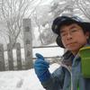 【山行記録】冬の山上ヶ岳へいってきました