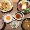 定食春秋(その 38)ねばとろごはんと鶏天の定食
