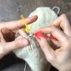 フランス式裏編みの編み方はここに注目、糸と針の角度が決めてでした!