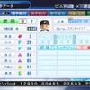 武田由樹(パワプロ2018オリジナル選手)