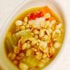 自家製牛骨スープで、スコッチブロス