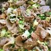 塩キャベツと豚肉の甘酒味噌