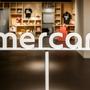 メルカリオフィス内の「mercari」ロゴも変わっていたよ! #メルカリな日々