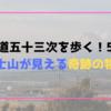 【東海道五十三次を歩く!5日目】富士山が見える奇跡の物語