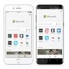 「Microsoft Edge」ブラウザのiPhone/Android版(プレビュー)公開