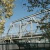 黄葉と鉄橋(越中島貨物線)