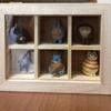 セリアのコレクションケースを使って フィギュアボックスを作成してみました。