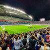 OPPO Reno 10x Zoomで撮影する、Rakuten CUP(FC Barcelona×Chelsea FC)