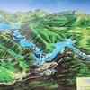 クロアチアにある世界遺産の国立公園のビッグウォーターフォール