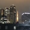 4月26日(木)hatenaより少し遠めの東京タワー。