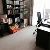 書斎のカーペットを撤去しました。