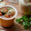 【レンジで1分!】忙しい人の朝食にぴったり 〜レンジカップスープ〜