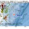 2017年09月29日 11時31分 茨城県沖でM4.1の地震