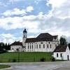 ノイシュバンシュタイン城、世界遺産ヴィース巡礼教会へ路線バスで行ってきた(ヴィース教会編)
