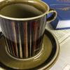 ARABIA アラビア Kosmos コスモス コーヒーカップ&ソーサー  アラビア社の定番シリーズで現在でも根強い人気のコスモスです。