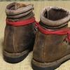 重登山靴が直ってきた