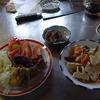 幸運な病のレシピ( 563 )朝:鳥・レバー・塩サバ・ハタハタ唐揚げ、身欠きにしん煮付け、煮しめ