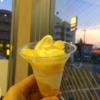 【コンビニ】ミニストップの白桃パフェ