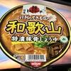 麺類大好き60 日清 行列のできる店の和歌山特濃豚骨醤油